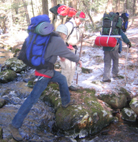 Midstate Trail Backpacking Trip