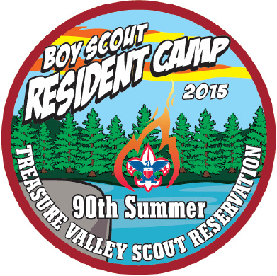 Camp Patch Design
