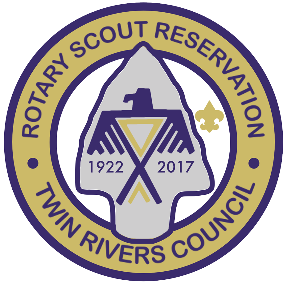 Rotary Scout Reservation emblem