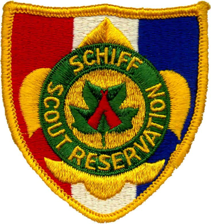 Schiff  Scout Reservation patch