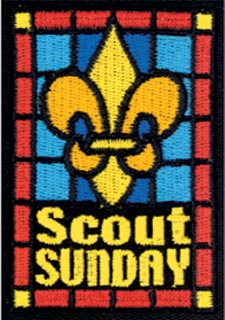 Scout Sunday Patch