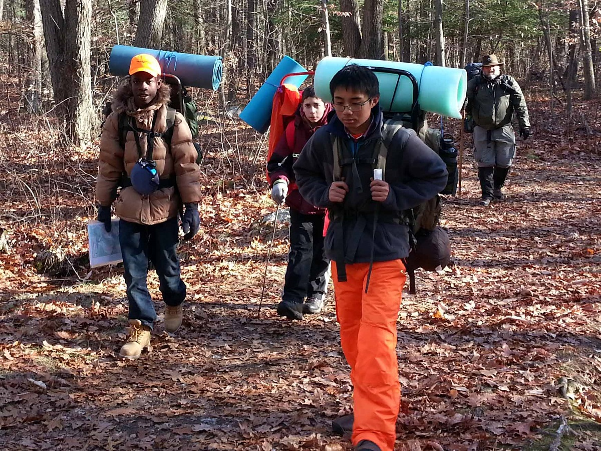 Backpacking the Blue Hills Reservation